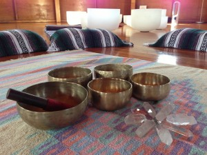 My bowls in the Integratron